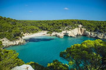 Cala Mitjaneta Beach in Menorca