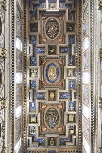 Chiesa di san marcello al corso soffitto a cassettoni roma stock photo and royalty free - Corso di design roma ...