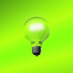 3D large glass bulb
