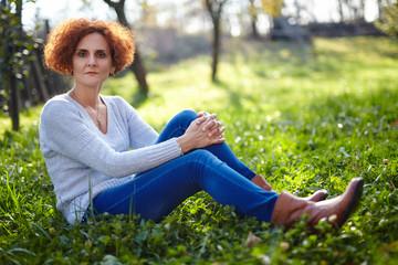 Caucasian woman farmer