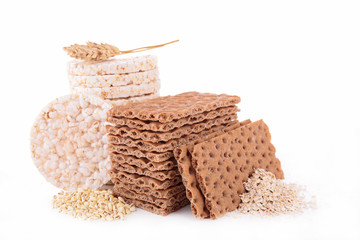cereal cracker and crispy bread