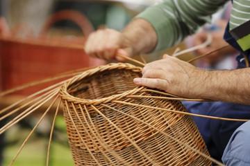 Obraz Basket maker - fototapety do salonu