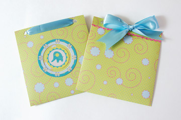 Baby boy envelope