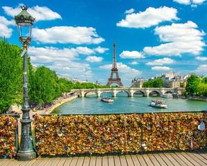 Wall Mural - Pont des arts à Paris, France