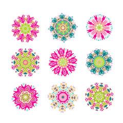 Set of floral arabesque for your design