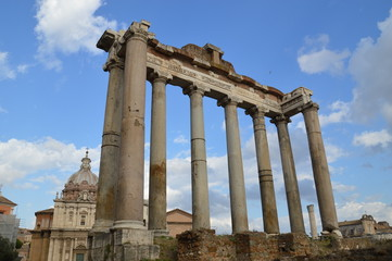 Roman Forum, Rom, Italien