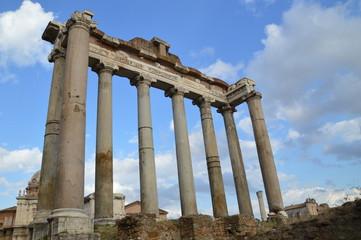 Roman Forum, Hinten
