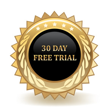 Thirty Day Free Trial Badge
