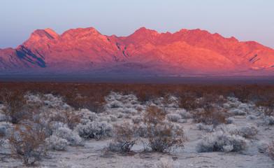 Providence Mountains Edgar & Fountain Peak Mojave Desert