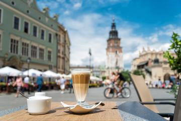 Autocollant pour porte Cracovie Altstadt von Krakau