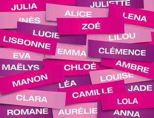 ETIQUETTE Prenoms Filles
