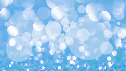 abstract light blue christmas background