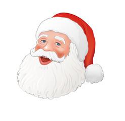 Weihnachtsmann, Kopf. ai