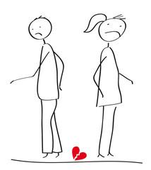 Scheidung - Paar im Konflikt und Trennung, Unterhalt, Trennungsangelegenheit
