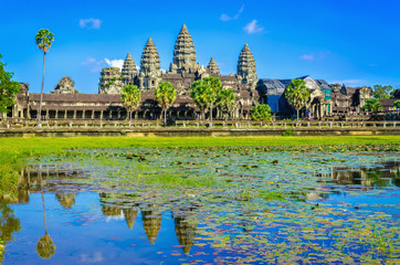 Asia's most famous monument, Angkor Wat Temple, Cambodia