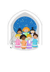 Little Chorus in a Chapel