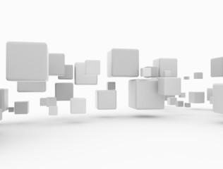 3d cubes blank