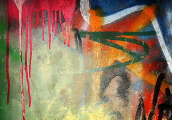 Wall Mural - abstract wall background