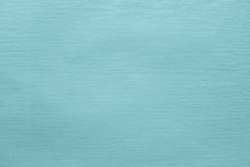 texture of thin glossy paper turquoise color