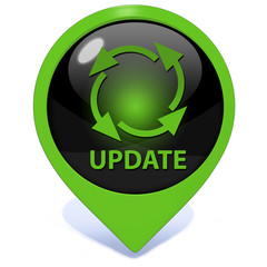 Update pointer icon on white background