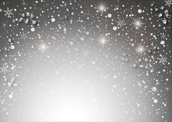 white star background