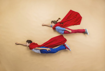 Children as superheroes