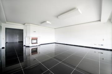 granit zeminli salon