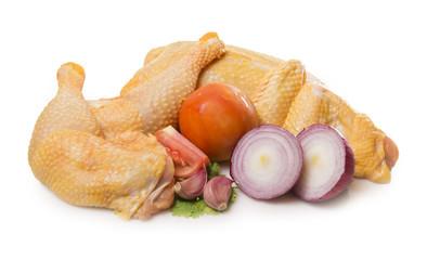 Pollo para guiso
