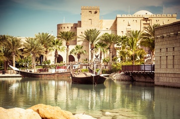 Recess Fitting Dubai Dubai, park with the lake