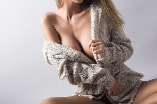 Fashion cleavage