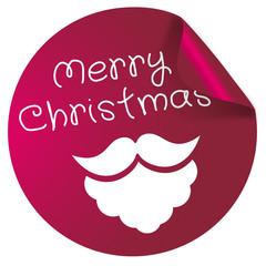 Button Merry Christmas