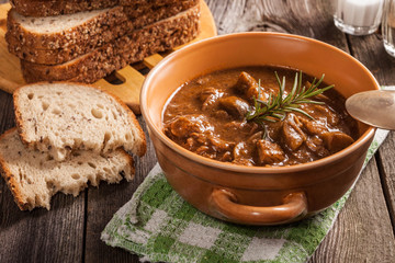 Goulash soup.