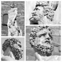 images of Hercules and Cacus by Baccio Bandinelli,Florence