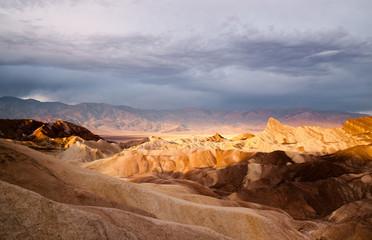 Badlands Amargosa Mountain Range Death Valley Zabriske Point