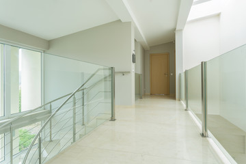 Spacious hall in luxury apartment