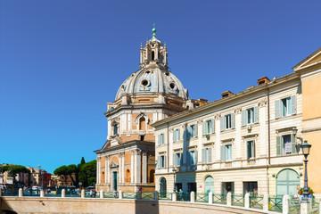 Santa Maria di Loreto church in Rome.