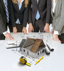 Home construction meeting