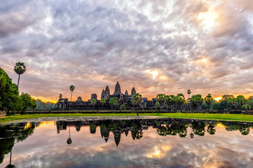 Angkor Wat in sunrise
