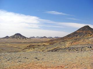 Egypte désert Noir
