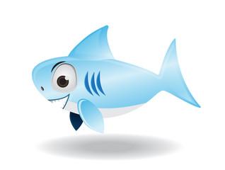 Scute shark illustrator