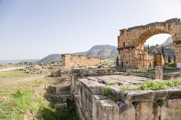 Hierapolis. Northern Roman baths, II - III c. AD