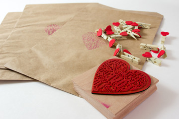 Valentine wrapper