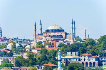 Basilica Hagia Sophia in Istanbul