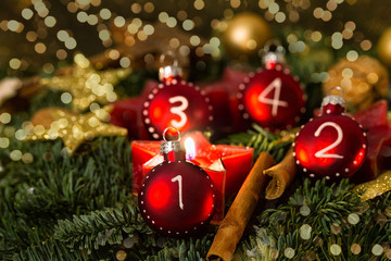 vierter und zweiter advent