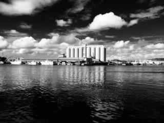 harbor of Port Louis