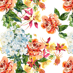 Bloomig seamless pattern