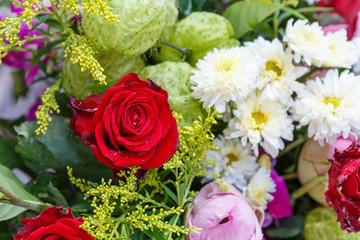 Rose flower bouquet