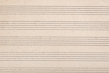 Sheet music for musical notes background
