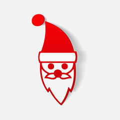 realistic design element: Santa Claus