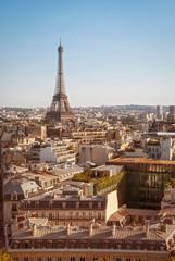 Paris, Tour Eiffel at sunset